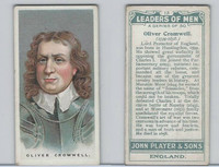 P72-194 Player, Leaders of Men, 1925, #13 Oliver Cromwell