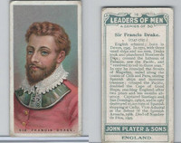 P72-194 Player, Leaders of Men, 1925, #16 Sir Francis Drake