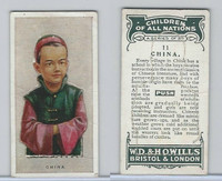W62-441 Wills, Children of all Nations, 1925, #11 China