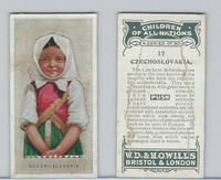 W62-441 Wills, Children of all Nations, 1925, #12 Czechoslovakia