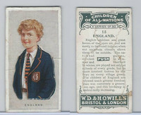 W62-441 Wills, Children of all Nations, 1925, #15 England