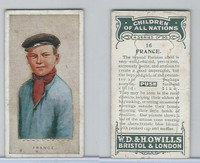 W62-441 Wills, Children of all Nations, 1925, #16 France