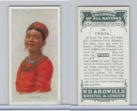 W62-441 Wills, Children of all Nations, 1925, #20 India