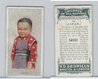 W62-441 Wills, Children of all Nations, 1925, #23 Japan