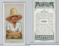 W62-441 Wills, Children of all Nations, 1925, #26 Mexico