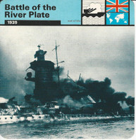 1977 Edito-Service, World War II, #01.01 Battle of the River Plate