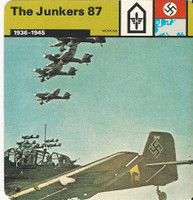 1977 Edito-Service, World War II, #01.05 The Junkers 87, German Airplane