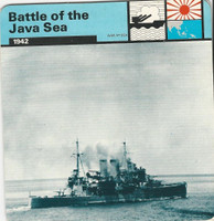 1977 Edito-Service, World War II, #01.11 Battle of the Java Sea