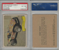 1975 Fleer, Kustom Cars II Sticker, Daisy Buggy, PSA 6 EXMT