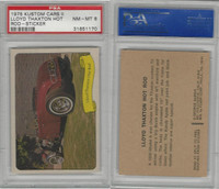 1975 Fleer, Kustom Cars II Sticker, Lloyd Thaxton Hot Rod, PSA 8 NMMT