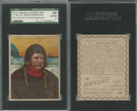 T118 Hassan, World's Greatest Explorers, 1910, C.E. Borchgrevnick, SGC 30