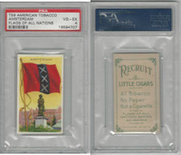 T59 American Tobacco, Flags of all Nations, 1910, Amsterdam, PSA 4 VGEX