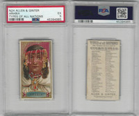 N24 Allen & Ginter, Types of all Nations, 1889, Arabia, PSA 5 EX