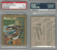 T57 Turkish Trophies, Fable Series, 1910, The Blind Man & Whelp, PSA 3.5