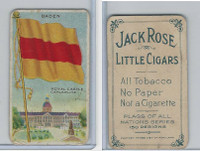T59 American Tobacco, Flags of all Nations, 1910, Baden