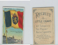 T59 American Tobacco, Flags of all Nations, 1910, Belgium Royal Standard