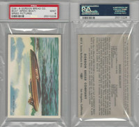 D39-8, Gordon Bread, Speed Pictures, 1941, Boat, Speed, PSA 9 Mint