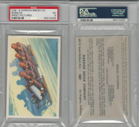 D39-8, Gordon Bread, Speed Pictures, 1941, Bobsled, PSA 5 EX