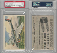 D59, Gordon Bread, National Defense Pictures, 1940's, Army Bomber, PSA 2