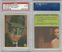 1966 Donruss, Green Hornet, #1 The Fantastic Crime Fighter, PSA 7 NM