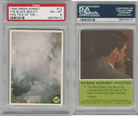 1966 Donruss, Green Hornet, #12 The Black Beauty Has Two, PSA 8 NMMT