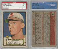 1952 Topps Baseball, #58 Bob Mahoney, Browns, PSA 5 EX
