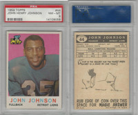 1959 Topps Football, #44 John Henry Johnson HOF, Detroit Lions, PSA 8 NMMT