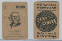 K Card Lion Coffee, Politicians, 1905, #N23 Oscar II, Sweden & Norway