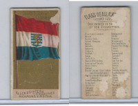 N10 Allen & Ginter, Flags of all Nations, 1890, Grand Duchy Luxemburg