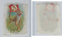 SC1 ITC Silk, Animal & Flag, 1910, Tiger, Bengal