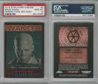 2015 Topps, Star Wars Chrome Perspectives, #3 Mace Windu, PSA 10 Gem