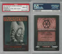 2015 Topps, Star Wars Chrome Perspectives, #7 Shaak Ti, PSA 10 Gem