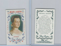 2015 Topps Allen Ginter, First Ladies, #First-3 Abigail Adams