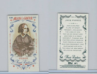 2015 Topps Allen Ginter, First Ladies, #First-13 Jane Pierce