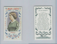 2015 Topps Allen Ginter, First Ladies, #First-17 Julia Grant