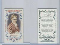 2015 Topps Allen Ginter, First Ladies, #First-19 Lucretia Garfield