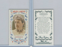 2015 Topps Allen Ginter, First Ladies, #First-21 Caroline Harrison