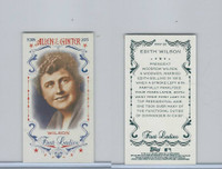 2015 Topps Allen Ginter, First Ladies, #First-26 Edith Wilson