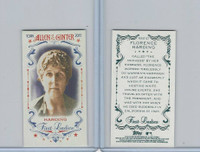 2015 Topps Allen Ginter, First Ladies, #First-27 Florence Harding