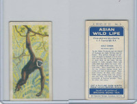 B0-0 Brooke Bond Tea, Asian Wild Life, 1962, #3 Agile Gibbon
