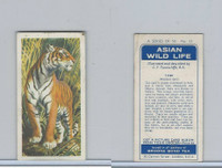 B0-0 Brooke Bond Tea, Asian Wild Life, 1962, #11 Tiger