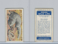 B0-0 Brooke Bond Tea, Asian Wild Life, 1962, #17 Indian Mongoose