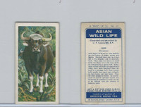 B0-0 Brooke Bond Tea, Asian Wild Life, 1962, #27 Gaur