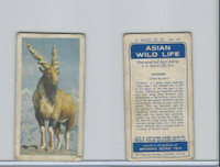 B0-0 Brooke Bond Tea, Asian Wild Life, 1962, #31 Markhor