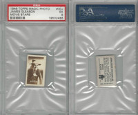 1949 Topps, Magic Photos, Movie Stars, J #30 James Gleason, PSA 5 EX