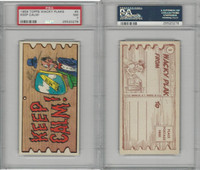 1959 Topps, Wacky Plaks, #5 Keep Calm!, PSA 7 NM