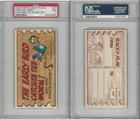 1959 Topps, Wacky Plaks, #27 The Early Bird Catches The Worm, PSA 7 NM
