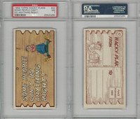 1959 Topps, Wacky Plaks, #42 Some People Can't Do Anything, PSA 7 NM