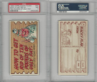 1959 Topps, Wacky Plaks, #44 How To Get Rid Of Ten Pounds, PSA 7 NM