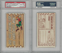 1959 Topps, Wacky Plaks, #64 Are You Looking For Ambitious, PSA 8 NMMT